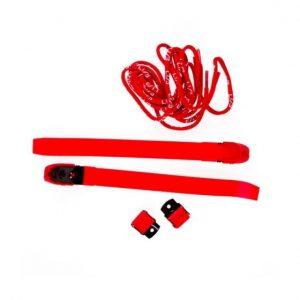 Usd бакли и шнурки красные