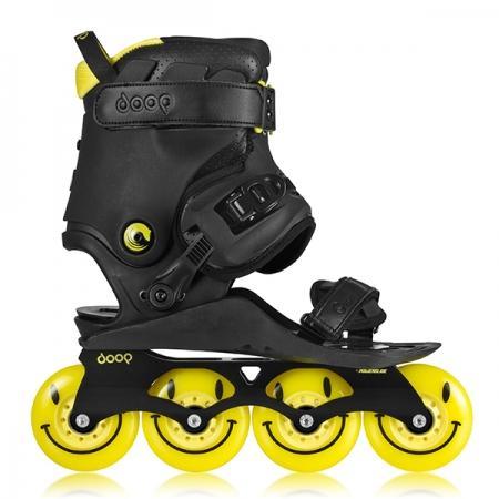 Doop Freestyle 2 Black/Yellow skates