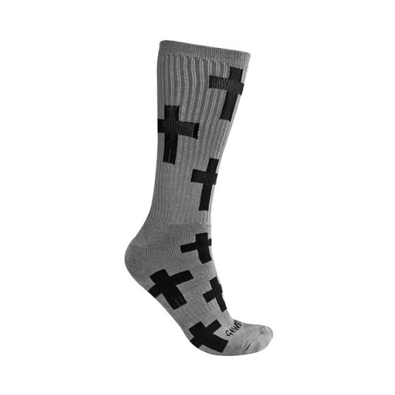Носки Gawds – Cross Socks Medium – grey