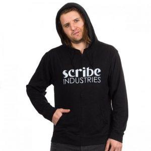 Scribe Light Beach Zip Hoodie black
