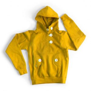 Ucon Elle Button Omma Hood yellow
