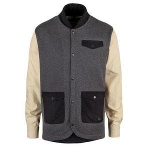 Ucon Levin Sweat Jacket darkgrey/melange