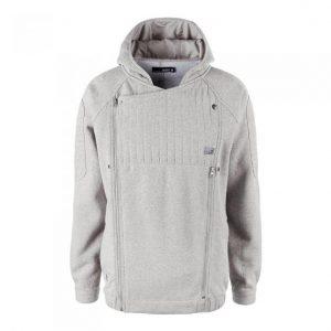 Ucon Malcom Sweat Jacket lightgrey/melange