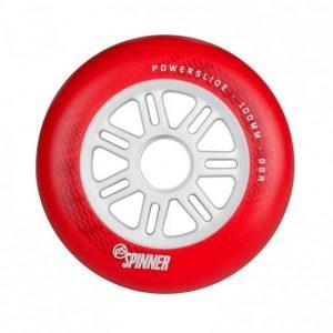 Колесо Powerslide Spinner 100mm/88a Full Profile Red (1 шт)