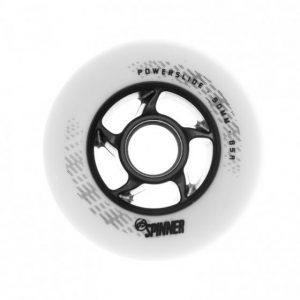 Колесо Powerslide Spinner 90mm/88a bullet Profile White (1 шт)