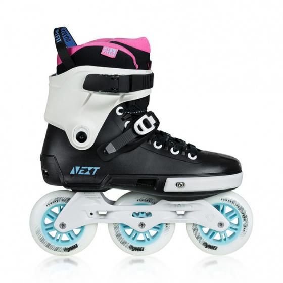 Ролики Powerslide Next 100 Black/Blue/Pink