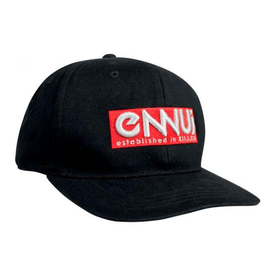 Ennui Logo Cap black/red