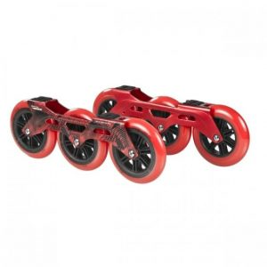 Powerslide – Megacruiser Frame Set 3x125mm – Red