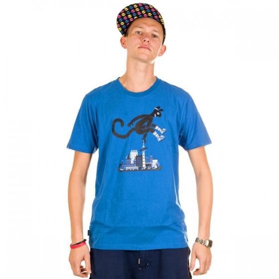 Ucon City Hooper Tee blue