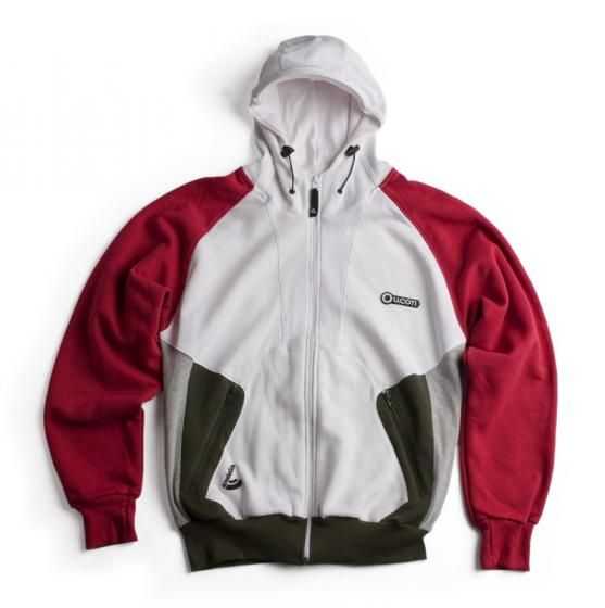 Ucon Client Hood red/white