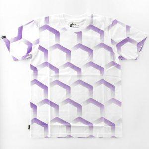 Ucon Hexagon Tee purple