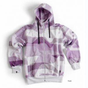 Ucon Lines Elem. Hood purple