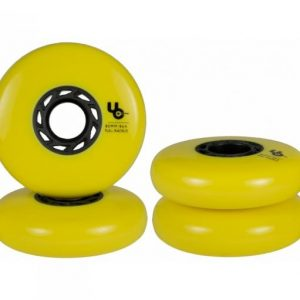Колеса Undercover Blank 80mm/86a yellow (4 шт)